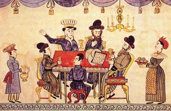 Passover haggadah Wikimedia