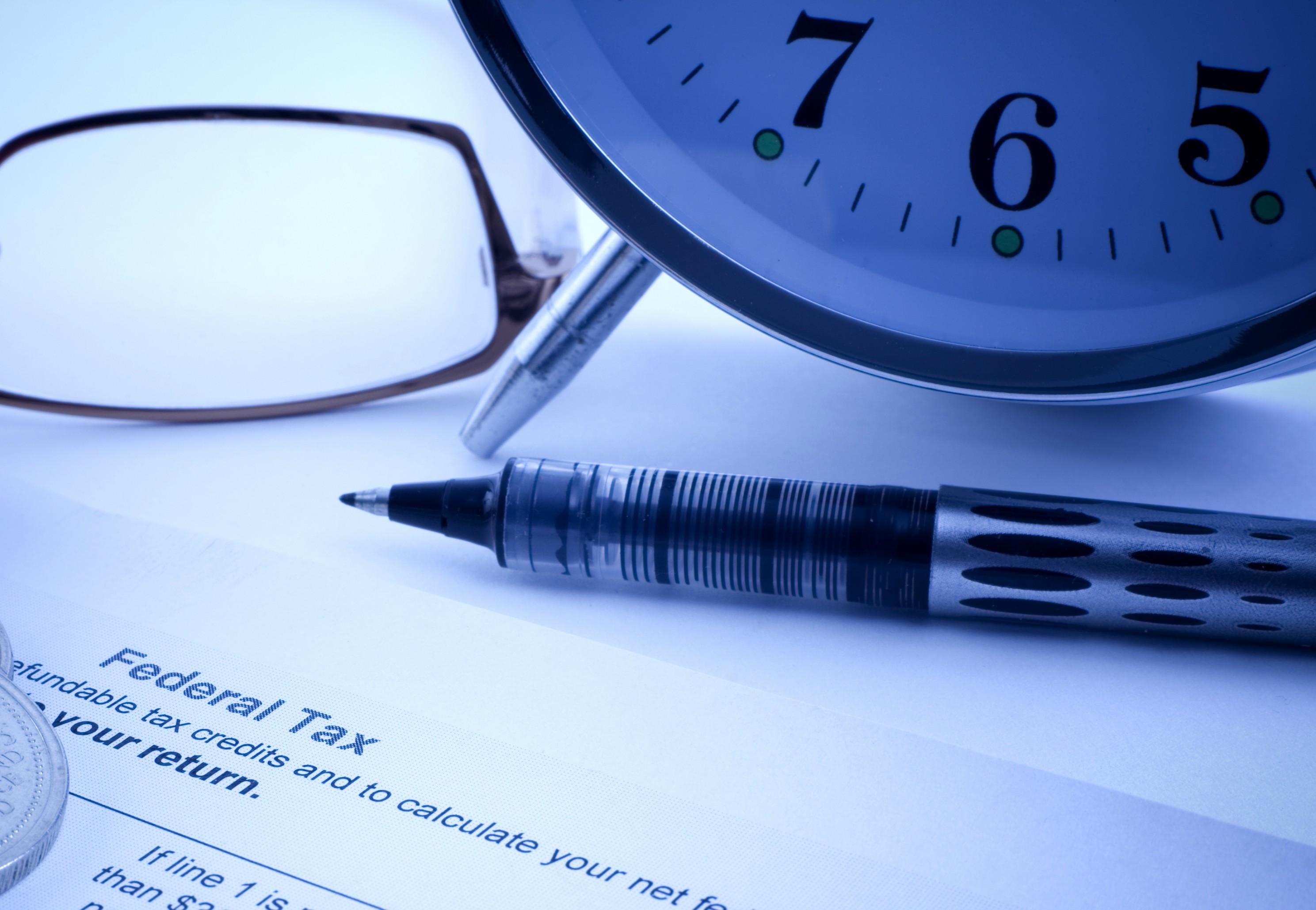 Federal tax form