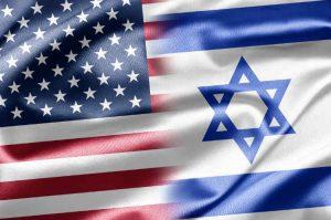 Us Israel flag