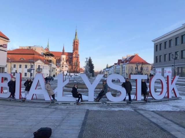 Bialystock sign