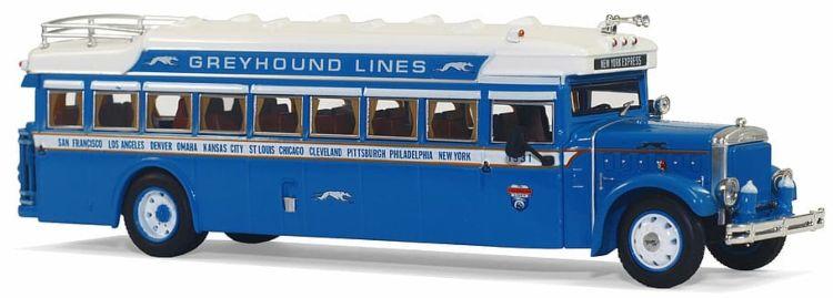 Vintage Greyhoung bus