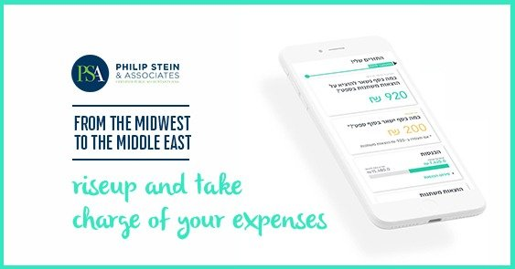 riseup and take charge of your expenses