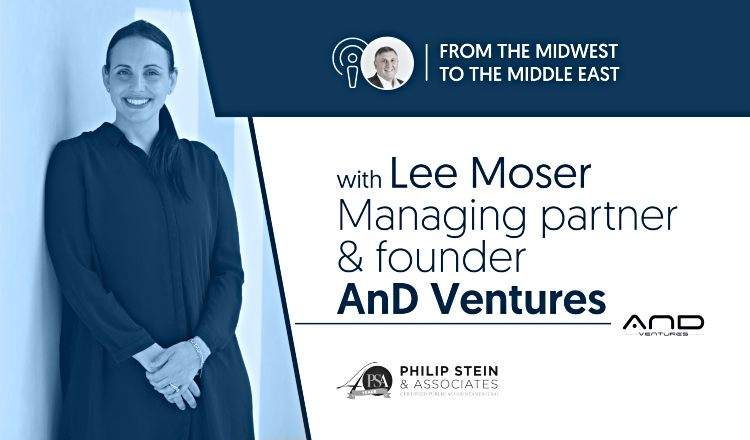 Podcast title and photo of Lee Moser
